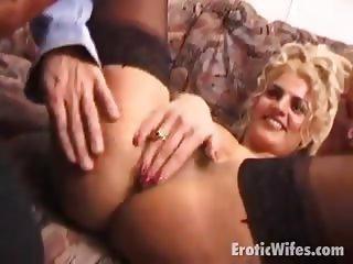 stockinged wife