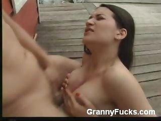 Mature Babe Takes a Pounding
