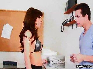 Latina Alexa Nicole gets nasty pussy creampie