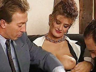 Nikki Platts - Mature Lady and 2 Cocks