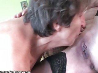 Dirty old sluts get fucked hard