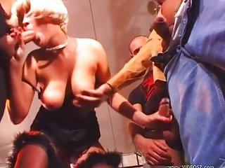 Krystal De Boor - Lady Gangbanged