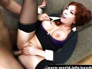 Redhead MILF Brittany O'Connell